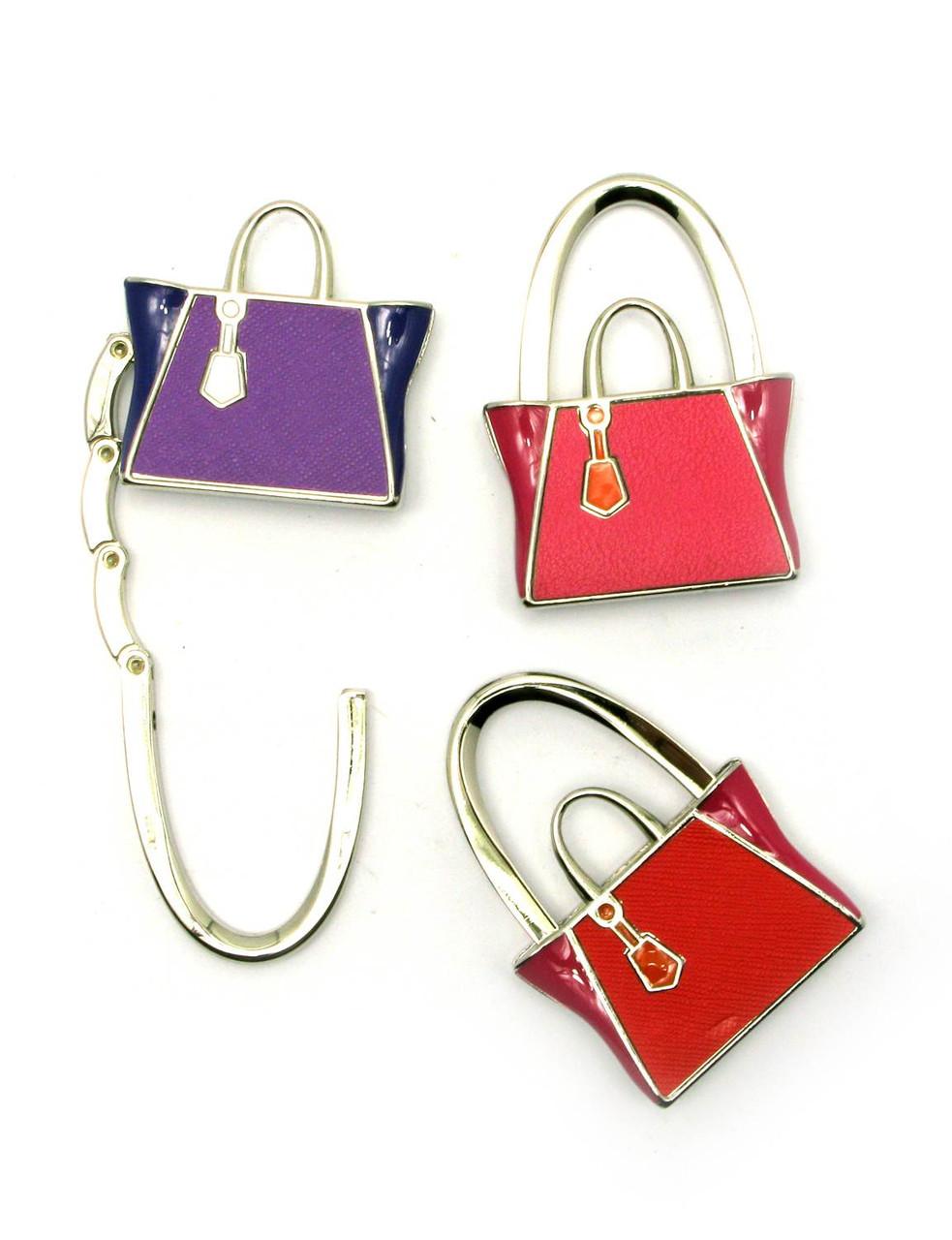 Вешалка брелок для женской сумочки