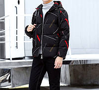 Мужская куртка контраст, фото 1