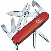 Нож Складной Мультитул Викторинокс Victorinox MECHANIC (91мм, 15 функций), красный 1.4623