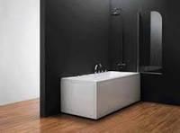 Шторка для ванны koller pool QP93 chrome grape R, фото 1