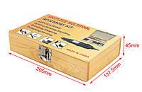 Набор корщеток/шарошек в чемоданчике 100 шт