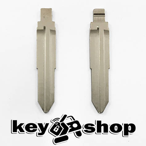 Лезо для выкидного ключа KIA (КИА) HYN10, фото 2