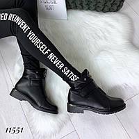 Красивые женские ботинки на флисе, фото 1