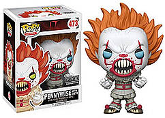 Фигурка Funko Pop Фанко Поп IT Pennywise(with teeth) Оно Пеннивайз(с зубами) 10см 473PN