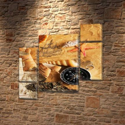 Картины модульные на Холсте, 120x130 см, (60x30-2/25х30-2/95x65), фото 2