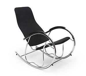 Кресло-качалка,металлическая,Ben-2, черная