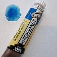 Фарба акварельна Rembrandt (535), Церулеум блакитний ФЦ, туба 20мл, Royal Talens