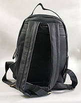 Молодежный модный рюкзак подросток девочка черный dulux, фото 3