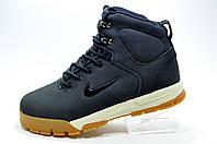 Зимние кроссовки в стиле Nike Air Nevist 6, Dark blue