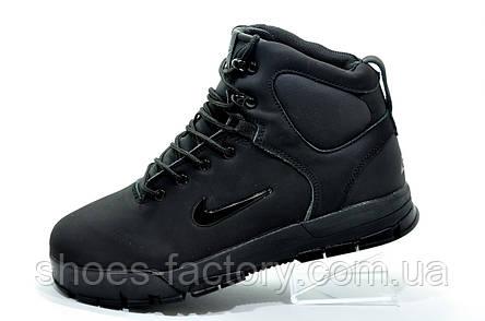 Зимние кроссовки на меху в стиле Nike Air Nevist 6, Black, фото 2