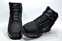 Зимние кроссовки на меху в стиле Nike Air Nevist 6, Black, фото 3