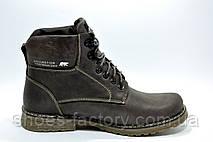 Зимние ботинки из кожи Ботус, мужские (Brown), фото 3