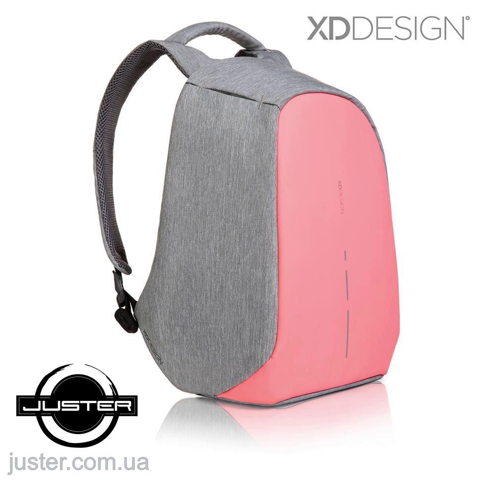 Рюкзак Bobby Compact Оригінал для ноутбука 14 XD Design протикрадій (P705.534) Coralette
