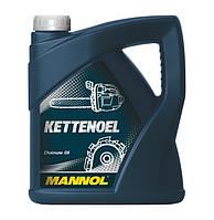 Масло для смазки режущих цепей пил Mannol Kettenoel  (4L)