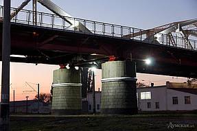 Подсветка горбатого моста г.Одесса 2