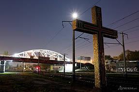 Подсветка горбатого моста г.Одесса 4