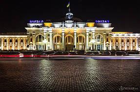 Подсветка горбатого моста г.Одесса 5