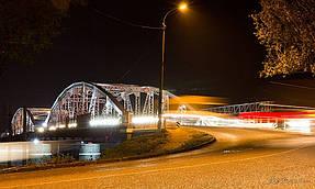 Подсветка горбатого моста г.Одесса 8
