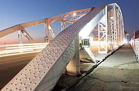Подсветка горбатого моста г.Одесса 9