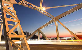 Подсветка горбатого моста г.Одесса 11