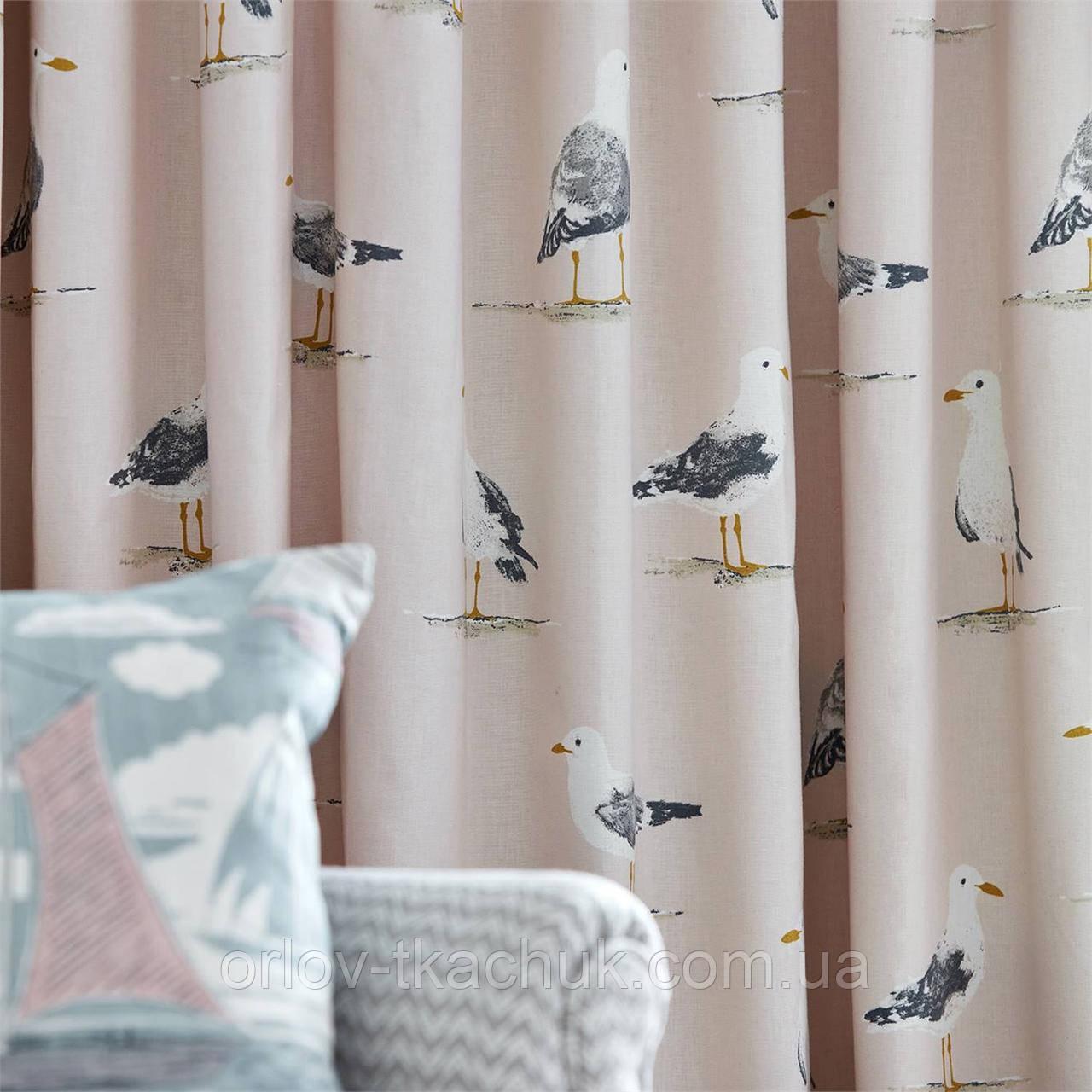 Інтер'єрна тканина Shore Birds Port Isaac Sanderson