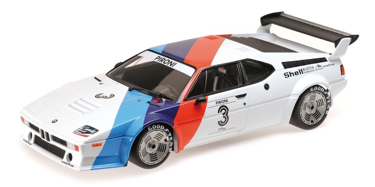 Оригинальная модель авто BMW M1 Procar Heritage Racing, White Motorsport (80432454788)