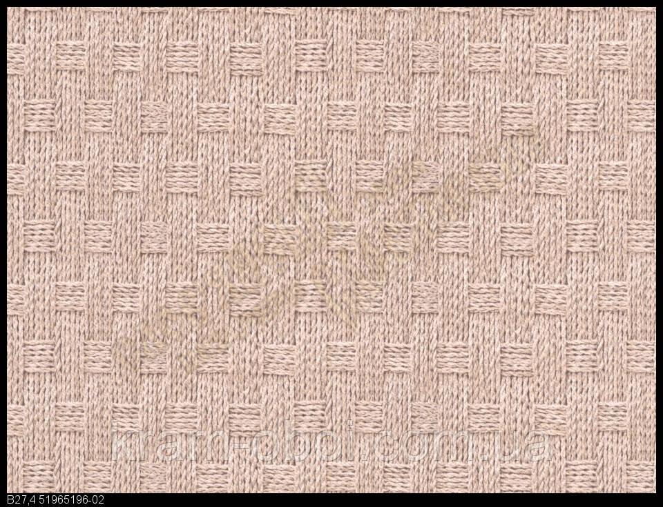Обои Славянские Обои КФТБ простые бумажные моющиеся 10 м*0,53 9В56 Плетенка 5196-02