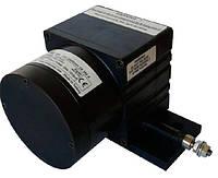 Тросовый потенциометрический датчик серии AWE 210, малогабаритный, трос из нержавеющей стали
