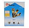 Бритва електробритва Domotec MS 3188 3 в 1, фото 8