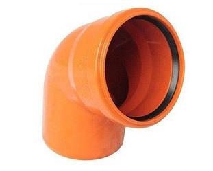 Колено для наружной канализации
