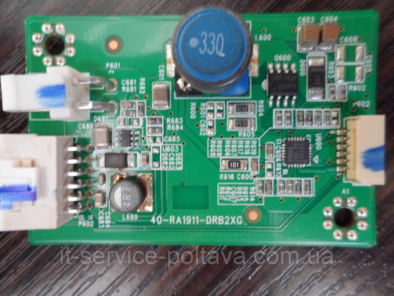 Driver board for LED TV Thomson 22HS4246C 40-RA1911-DRB2XG