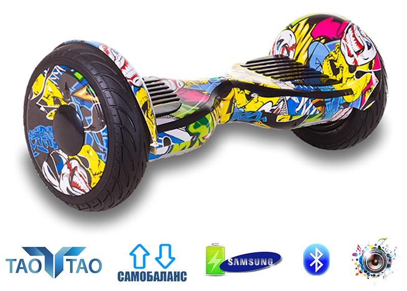Гироборд Smart Balance 10.5 Premium графити. С приложением TaoTao. С самобалансировкой.