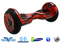 Гироборд Smart Balance 10.5 Premium Огонь. С приложением TaoTao. С самобалансировкой.