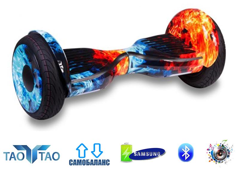 """Гироскутер Smart Balance AllRoad 10,5"""" SUV Premium огонь-лед"""