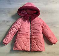 Куртка зимняя на девочку 104 (4года),116 (6лет)