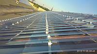 Профільний полікарбонат  Suntuf колотий лід (1,06х4м) прозорий  2УФ-захист, фото 1