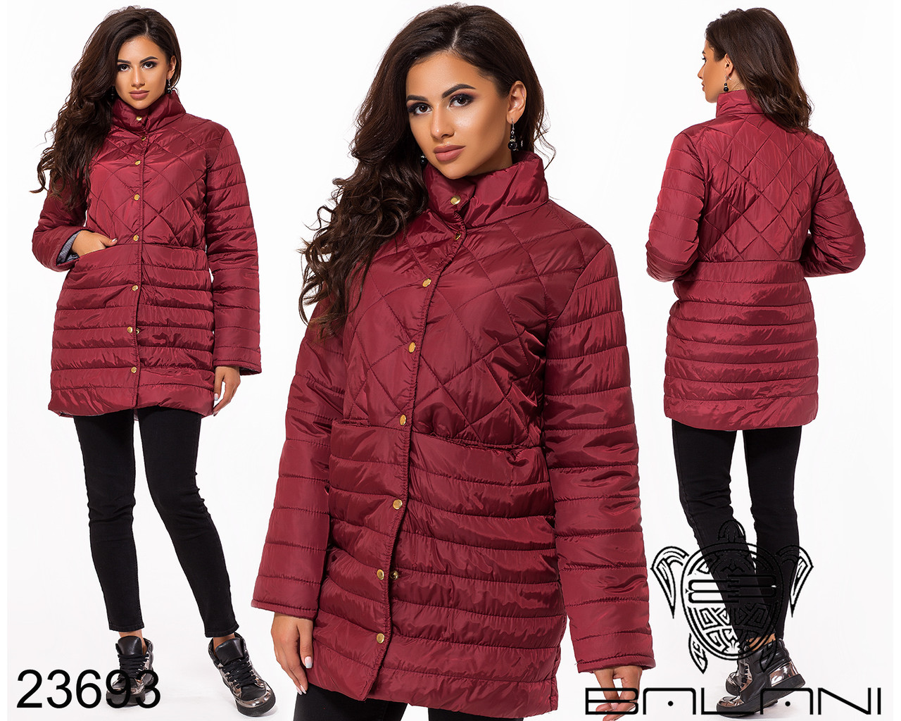 Куртка удлиненная- 23693