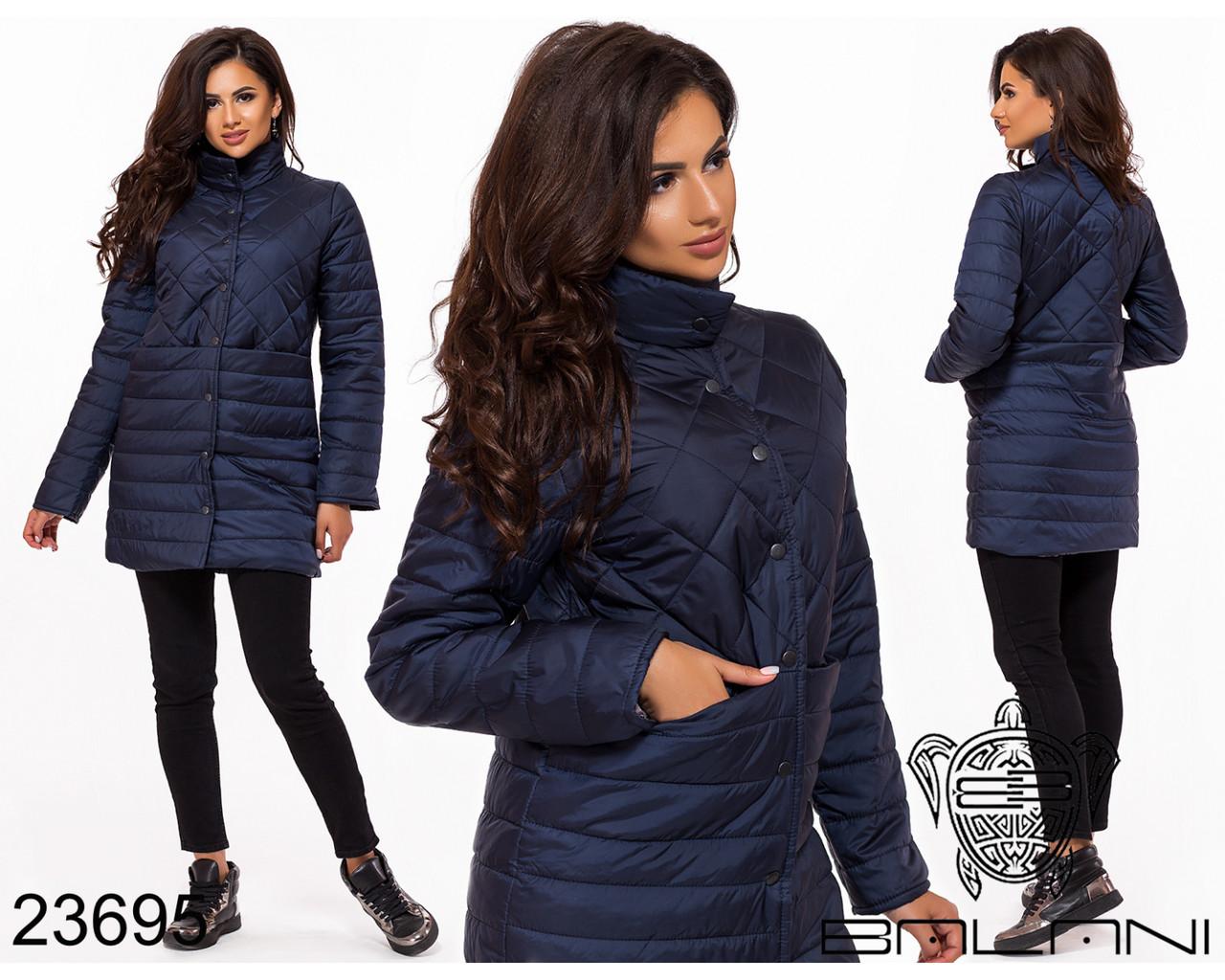 Куртка удлиненная- 23695