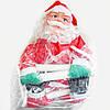 Новогодняя Игрушка Подвесной Santa Claus Декор для Дома Санта Клаус с Мешком Лезет по Лестнице 120 см, фото 7