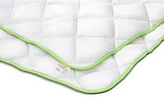 Детское бамбуковое одеяло 110х140 зимнее в кроватку белое поликоттон