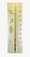 Термометр для сауны и бани ТСС-4 из дерева