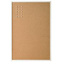 ВЭГГИС Доска для записей, белый, 58x39 см 30452241, IKEA, ИКЕА, VÄGGIS