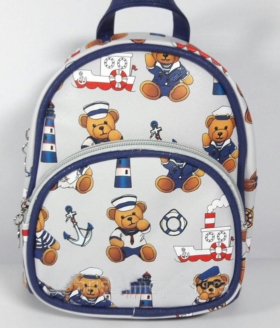 Рюкзак детский маленький кожзаменитель