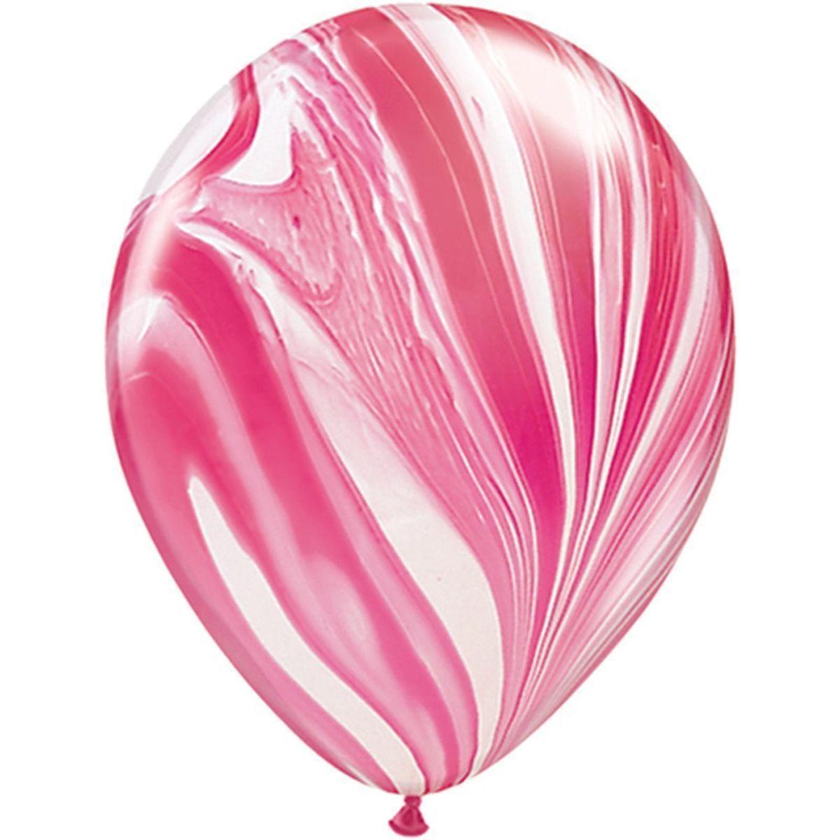 Шар 30 см Агат розовый