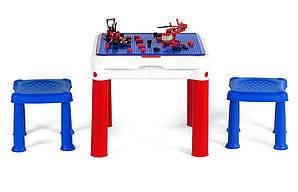 Стол для игр с конструктором ConstrucTable 3 в 1