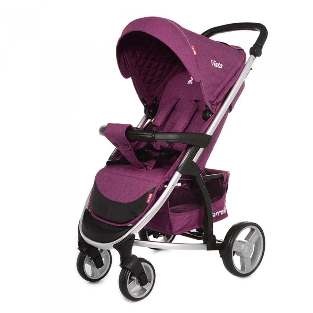 Коляска прогулочная CARRELLO Vista CRL-8505 Amethyst Purple в льне