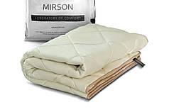 Детское бамбуковое одеяло 110х140 демисезонное в кроватку бежевое