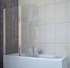 Шторка для ванны koller pool QP95 chrome transparent L