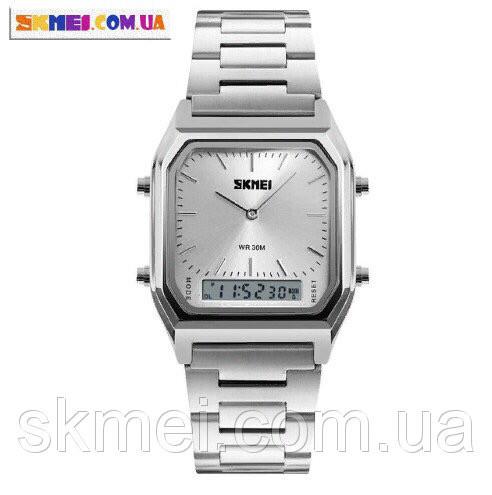 Мужские часы Skmei 1220 (Silver)