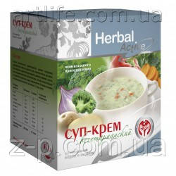 Суп-крем Вегетарианский, 10 пакетиков Арт Лайф